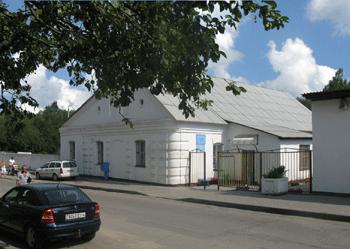 Здание расчетно-информационного центра г.Сморгонь