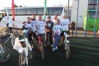 16 сентября участие в международном велопробеге Гродно-Друскининкай приняли Ковнацкий Владимир, Оскирко Василий, Алексеева Жанна.