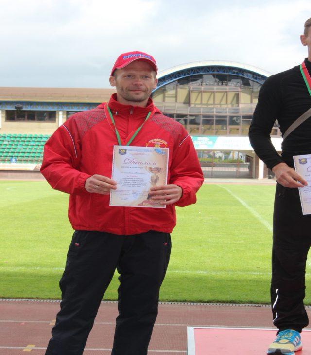 Мастер участка ОК и ТС Захаревич Валерий итоговое 2 место.