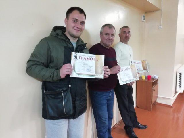 Семенов А., Стурлис С., Петров Н. с наградами