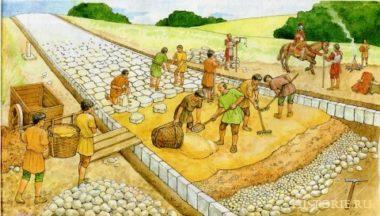 История появления асфальтированных дорог