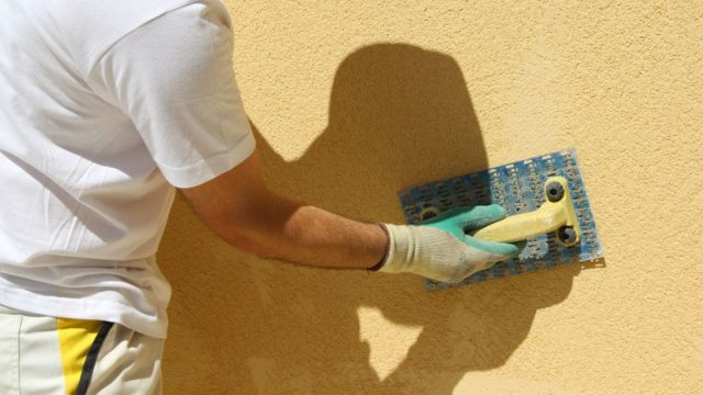 Руководство по успешному нанесению фасадных штукатурок